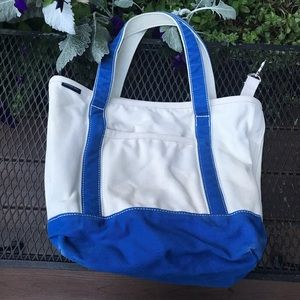 Lands' End Canvas Medium Tote Bag